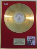 BAY CITY ROLLERS  -24 Carat Gold Disc LP - WOULDN'T YOU LIKE IT